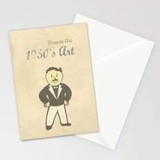1950s Artwork Stationery Cards