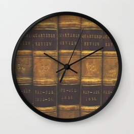 On The Shelf Wall Clock