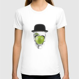 Magritte Skull T-shirt