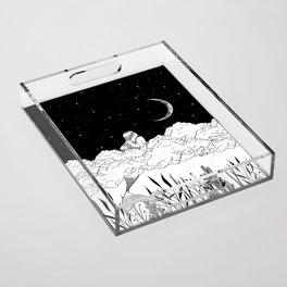Moon River Acrylic Tray