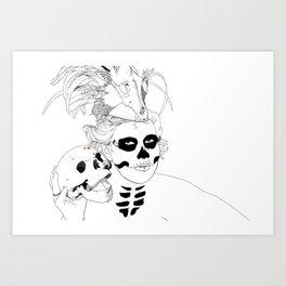 Voodoo Chille  Art Print