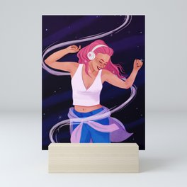 Late Night Jams Mini Art Print
