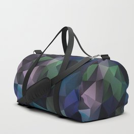 Warm evening . Polygon Duffle Bag