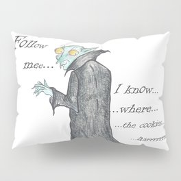 Follow Me, says the Vampire Pillow Sham