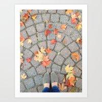Go where ever your Feet Bring you Art Print