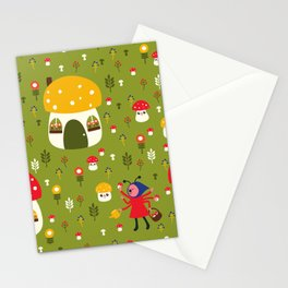 Worker Bugs Stationery Cards
