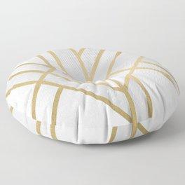 Art Deco Geometry 2 Floor Pillow