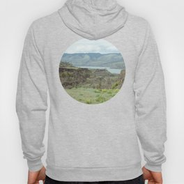 Tom McCall Preserve Looking Out at The Columbia River Gorge Hoody