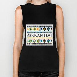 African beat Biker Tank