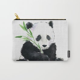 Panda watercolor Carry-All Pouch