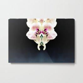 OrchidSymm Metal Print