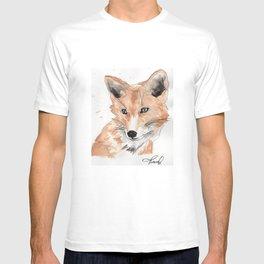 blue eye fox T-shirt