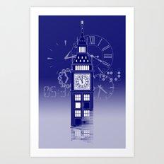 Big Ben Tardis Art Print
