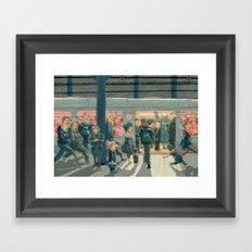Hey Superhero! Framed Art Print