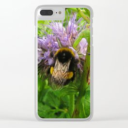 Bee Friends #2 Clear iPhone Case