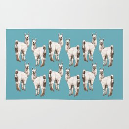 unicorn Llama - i am unique Rug