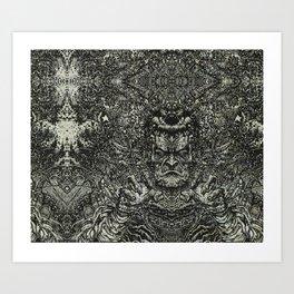 frankenstein conquers the universe Art Print