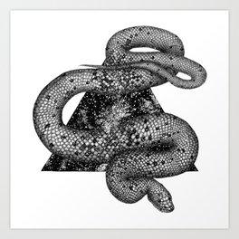 Cosmic Snake Art Print