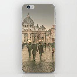 Conciliazione Street, Rome, Italy iPhone Skin