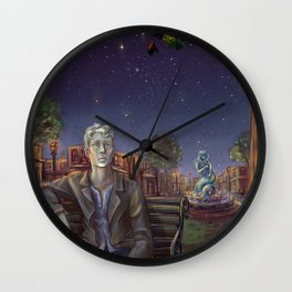 Drystan Wall Clock