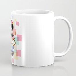 Super Mario Pixel Cubism Coffee Mug