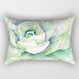 Succulent Plant 1 Rectangular Pillow