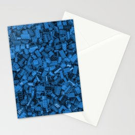 Master builder Blue Stationery Cards