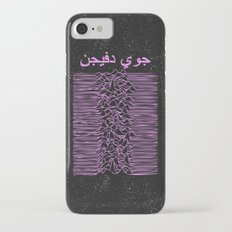 Joy Division In Arabic & pink  iPhone 7 Slim Case