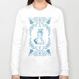 Marie-Antoinette Monogram (Aqua) Long Sleeve T-shirt