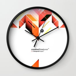 Abstrakt. Wall Clock