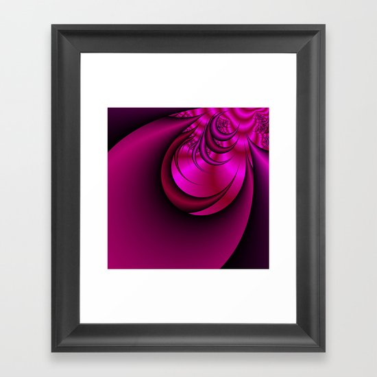 Pink Abyss Framed Art Print