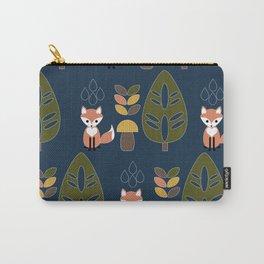 Rainy Fox Carry-All Pouch