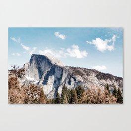 Half Dome from Yosemite Falls Canvas Print
