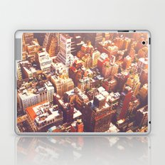 New York City Skyline Summer Laptop & iPad Skin