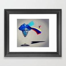 MixMotion: Frozen Drinks Framed Art Print