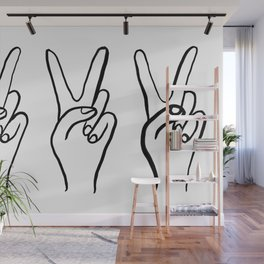 Peace Out Wall Mural