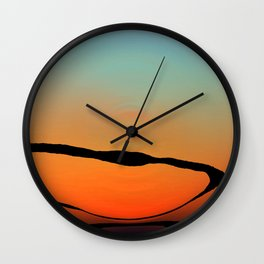 Colorful Bright Modern Art - Eternal Light 2 - Sharon Cummings Wall Clock
