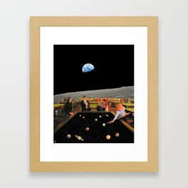 Cosmic Games Framed Art Print