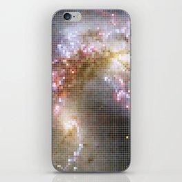 Pixel Nebula iPhone Skin