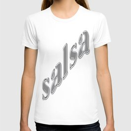 Salsa Dent Text Neon T-shirt