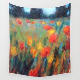 Hillside Brights Wall Tapestry