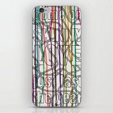 Skinny Love iPhone & iPod Skin