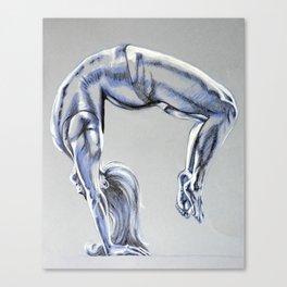 Bend Over Backwards Canvas Print
