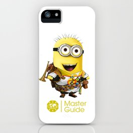 MasterGuide Minion iPhone Case