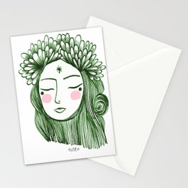 Miss Aster Stationery Cards