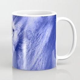 Fantasy Lion of Legend in Blue-Lilac Coffee Mug
