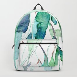 Delicate Eucalyptus Leaves Backpack