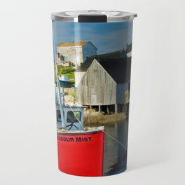 The Boat Harbour Mist in Peggy's Cove Travel Mug