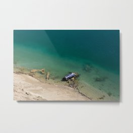 Old, Abandoned and Forgotten Metal Print