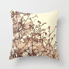 Spring Blossoms - Nature Photography Throw Pillow